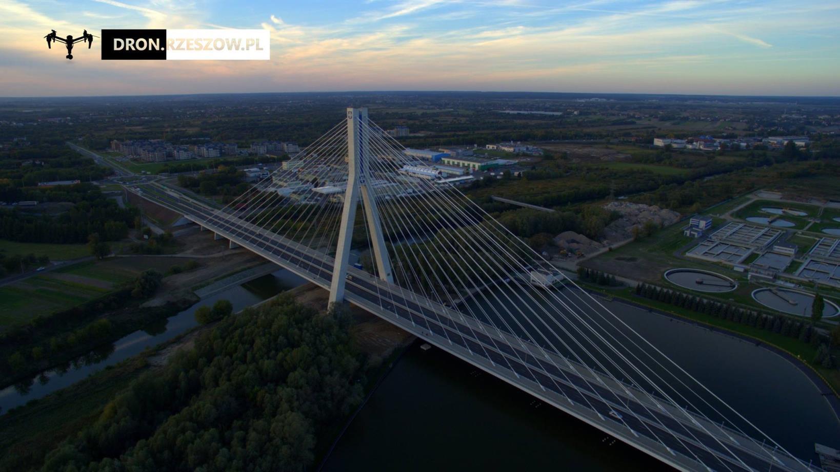 Most Mazowieckiego Rzeszów Dron