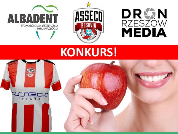 albadent - asseco - dron rzeszow media - konkurs